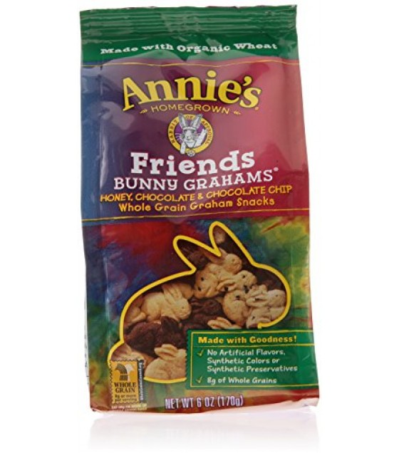 [Annie`S Homegrown]  Friends Bunny Grahams  At least 70% Organic