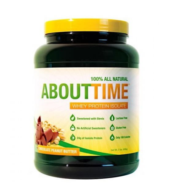 [About Time] WHEY PROT ISO,CHOC P/BTR
