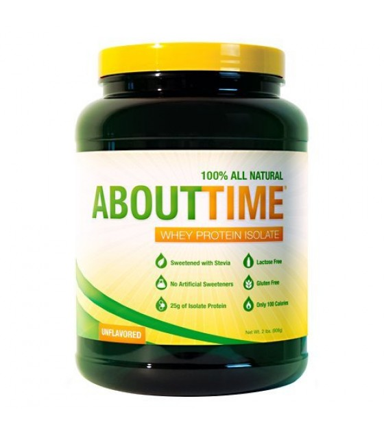 [About Time] WHEY PROT ISO,UNFLAVORED