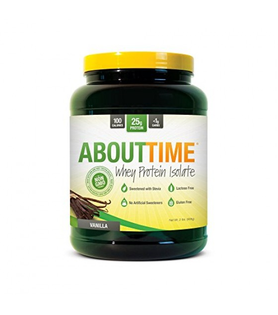 [About Time] WHEY PROT ISO,VANILLA
