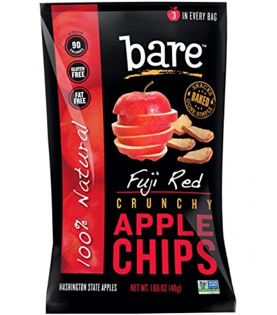 [Bare Fruit] Dried Fruit Chips, Fuji Apple