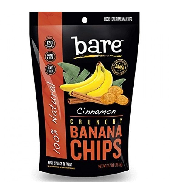 [Bare Fruit] Crunchy Banana Chips Cinnamon