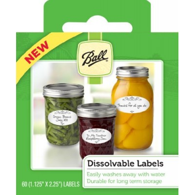 [Ball] Preserving Accessories Dissolvable Labels