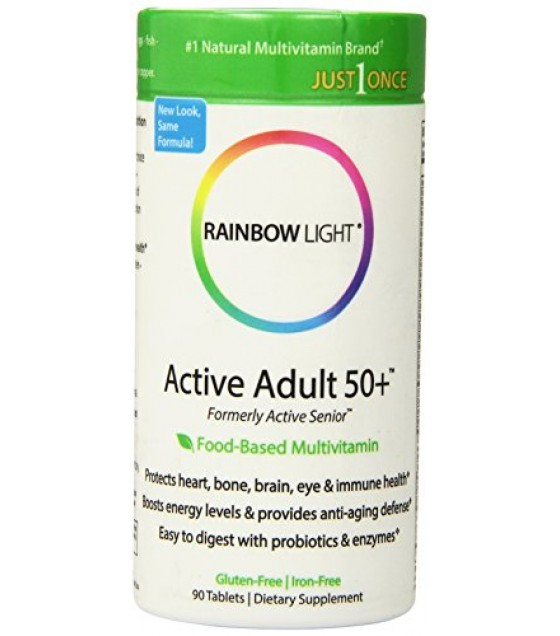 [Rainbow Light] One-Per-Day Multivitamins Active One Senior Multivitamin