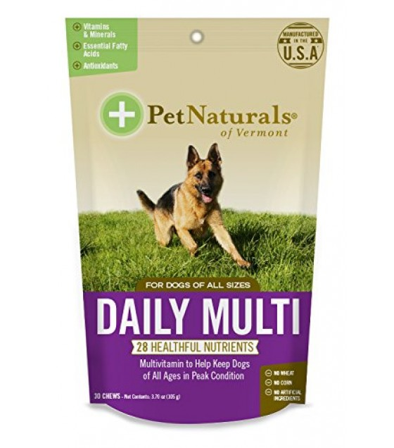 [pet Naturals Of Vermont] Mltivtmn,daily Multi,dog