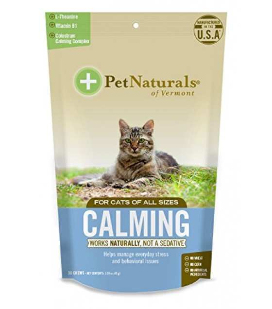 [pet Naturals Of Vermont] Calming Chew,cats