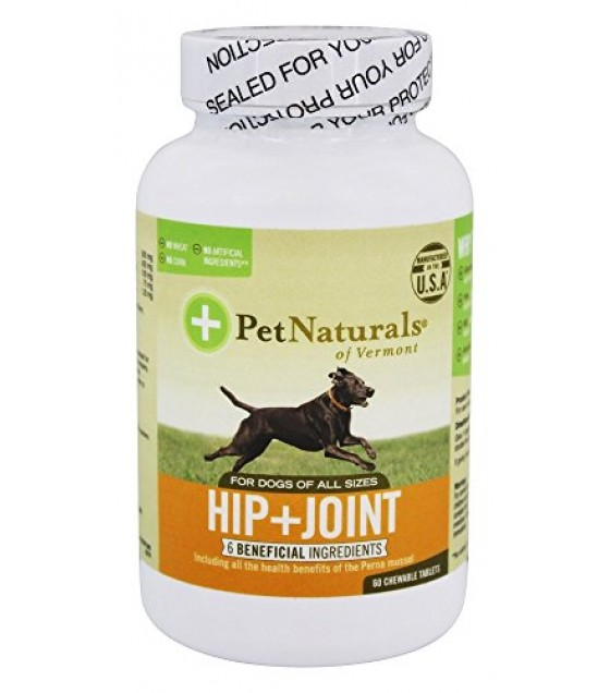 [pet Naturals Of Vermont] Hip & Joint Tablet