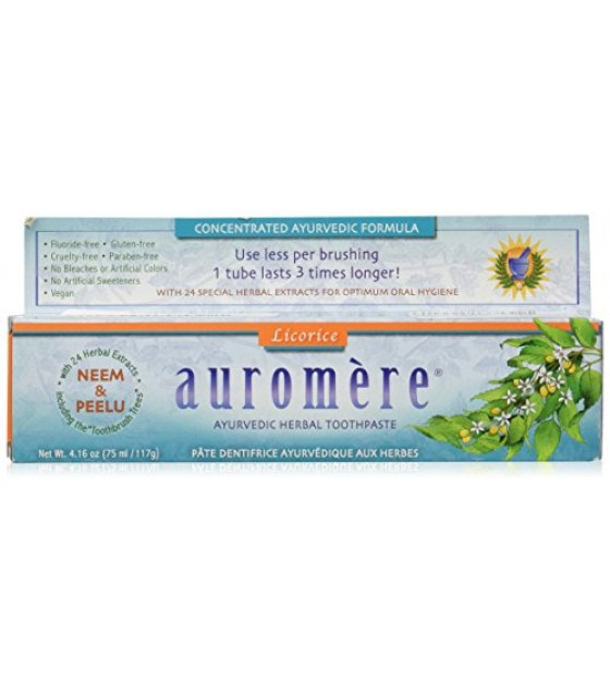 [Auromere Ayurvedic Products] Toothpaste Licorice