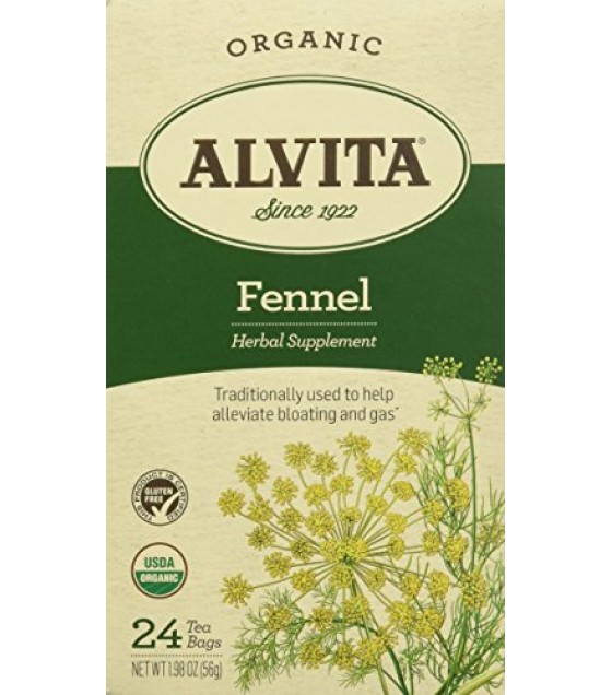 [Alvita Tea] Bag Tea Fennel Seed  At least 95% Organic