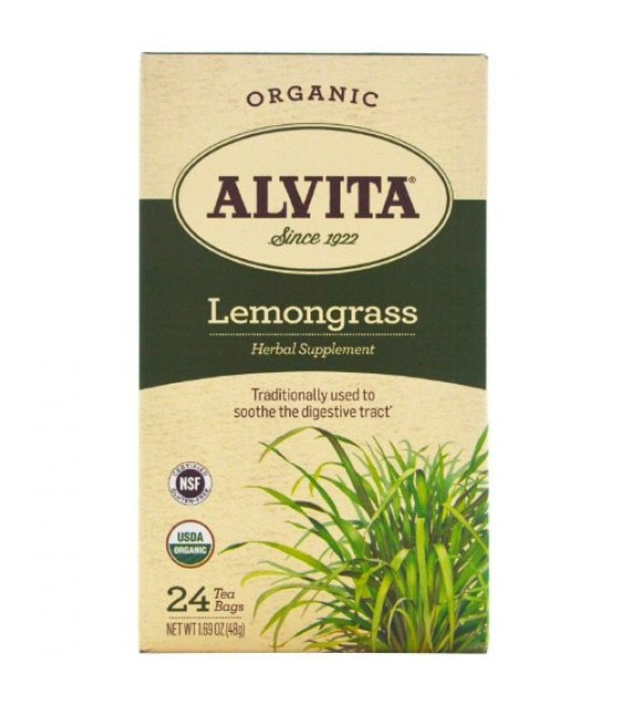 [alvita] Organic Tea; Lemongrass