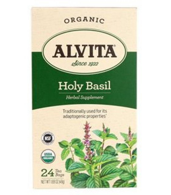 [Alvita Tea] Bag Tea Holy Basil Tea  At least 95% Organic