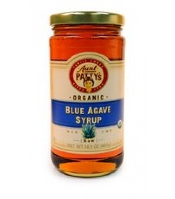 [Aunt Patty`S] Syrup Agave, Raw Blue  At least 95% Organic