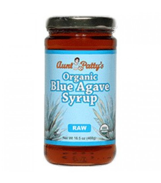 [Aunt Patty`S] Syrup Light Blue Agave, Premium  100% Organic
