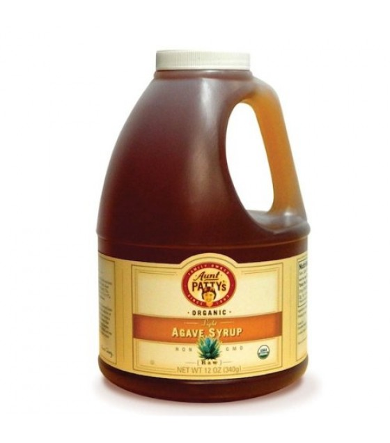 [Aunt Patty`S] Syrup Agave, Light Raw  At least 95% Organic