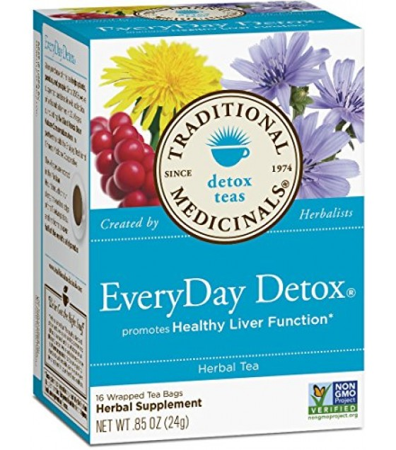 [Traditional Medicinals] Traditional Blends Everyday Detox  At least 70% Organic
