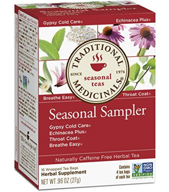 [traditional Medicinals] Cold Season Herb Tea Sampler