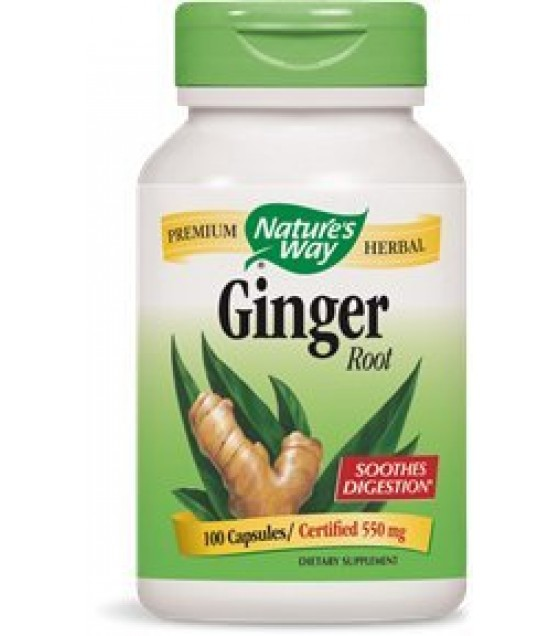 [Nature`S Way] Herbal Singles Ginger Root