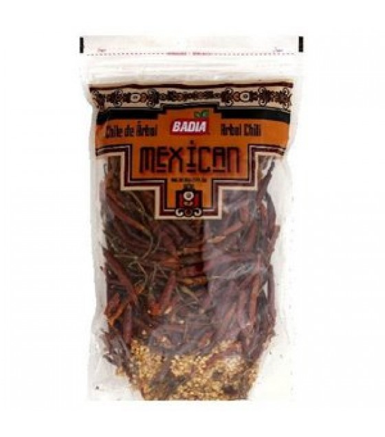 [Badia Spices] Caribbean Hispanic Spices/Seasonings Chili Pods, Arbol