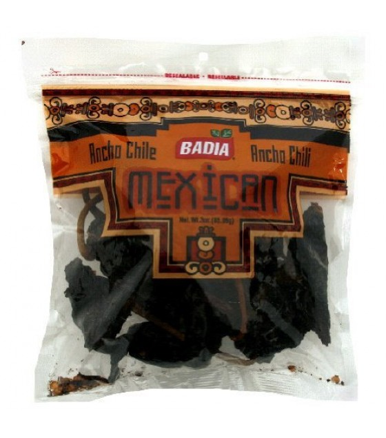 [Badia Spices] Caribbean Hispanic Spices/Seasonings Chili Pods, Ancho
