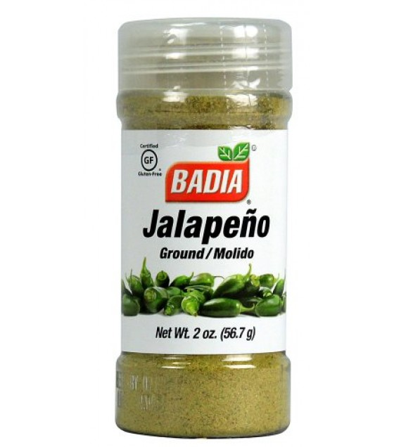 [Badia Spices] Caribbean Hispanic Spices/Seasonings JALAPENO GROUND
