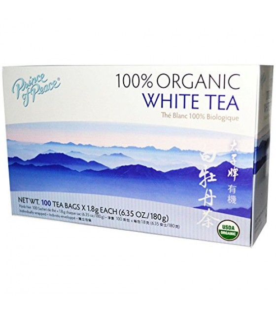 [Prince Of Peace] Chinese Herbal Products Tea, White  100% Organic