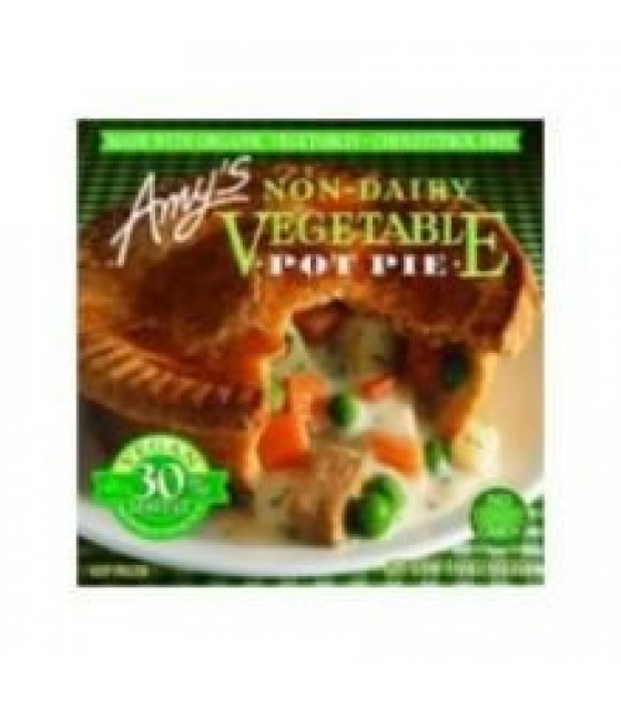 [Amy`S] Pot Pies Vegetable, ND  At least 70% Organic
