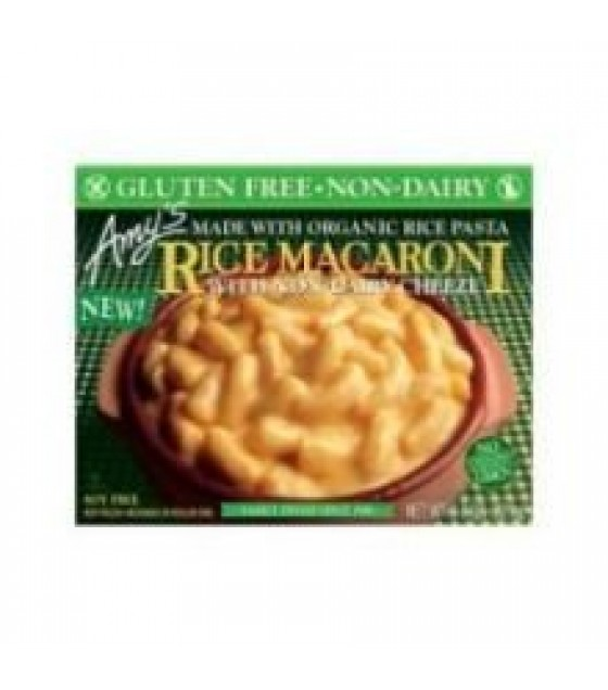 [Amy`S] Entrees Mac & Cheese, Non-Dairy Rice  At least 70% Organic