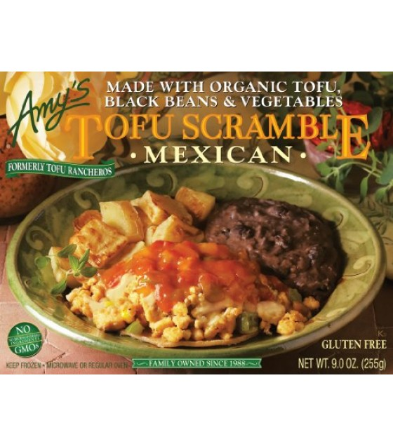 [Amy`S] Breakfast Scrambles Tofu Mexican w/Rst Pot & Blk Beans  At least 70% Organic