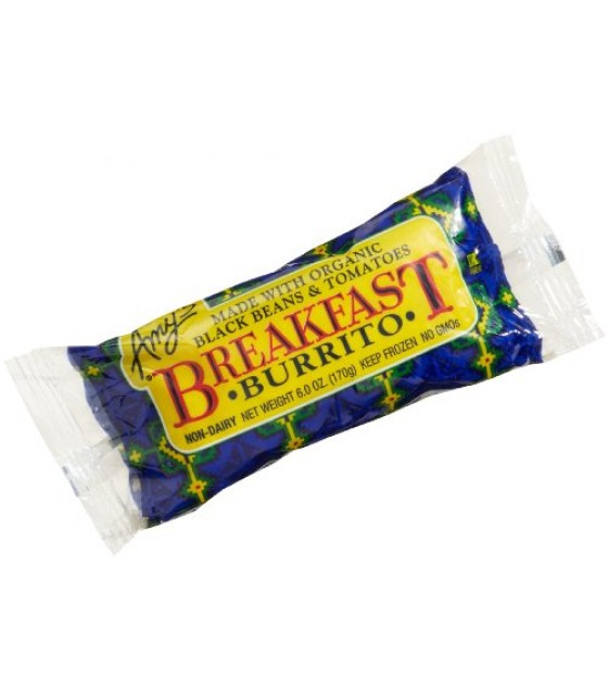 [Amy`S] Burritos & Wraps Burrito, Breakfast  At least 70% Organic