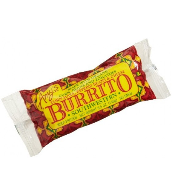[Amy`S] Burritos & Wraps Burrito, Southwestern  At least 70% Organic