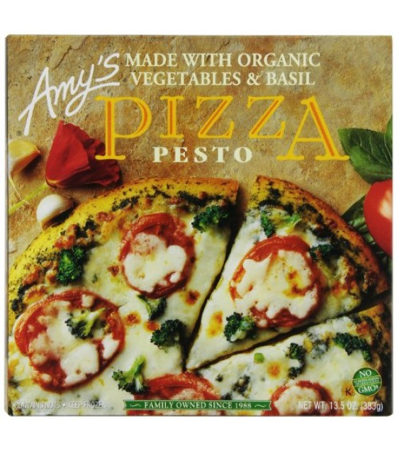 [Amy`S] Pizza Pesto w/Tomato & Broccoli  At least 70% Organic