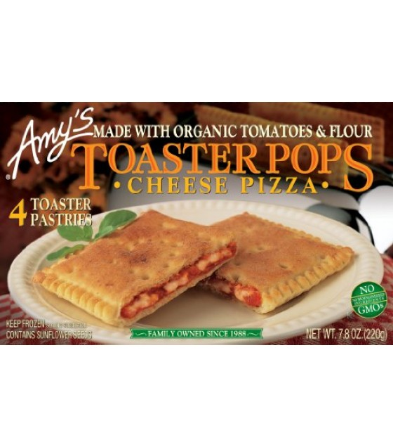 [Amy`S] Toaster Pops Cheese Pizza  At least 70% Organic