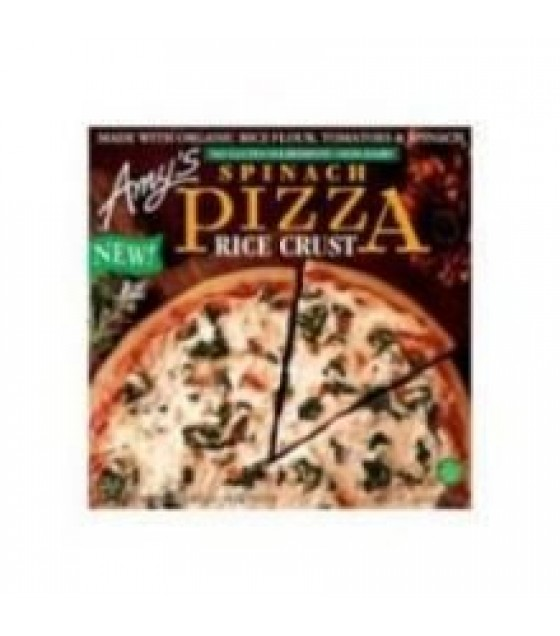 [Amy`S] Pizza Spinach, Rice Crust  At least 70% Organic