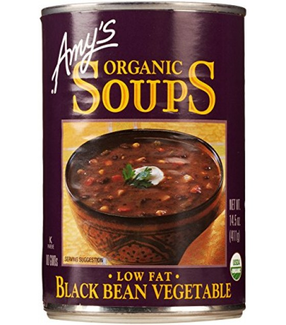 [Amy`S] Soups Black Bean Vegetable  At least 95% Organic