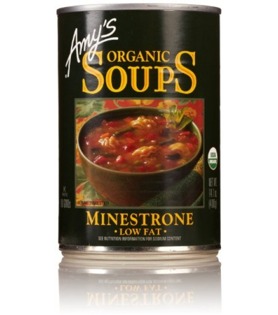 [Amy`S] Soups Minestrone  At least 95% Organic