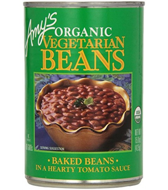 [Amy`S] Beans Vegetarian Baked  At least 95% Organic
