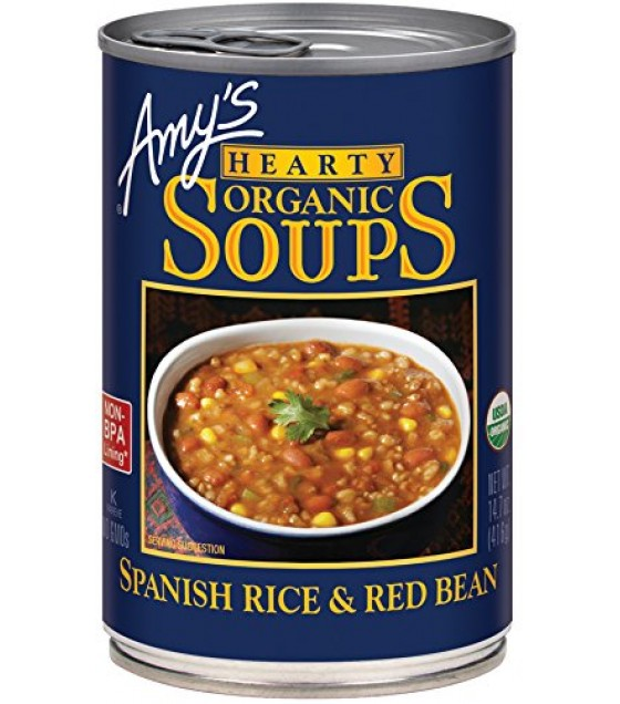 [Amy`S] Soups Spanish Rice & Red Bean  At least 95% Organic