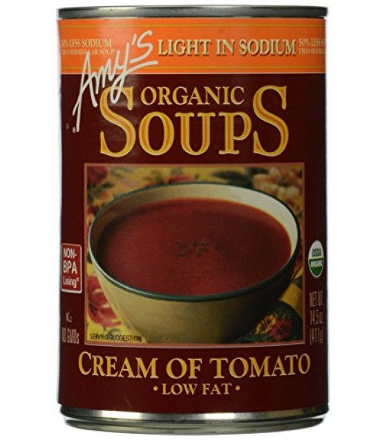 [Amy`S] Soups Cream of Tomato, LS  At least 95% Organic