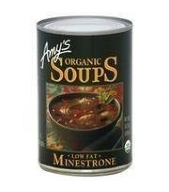 [Amy`S] Soups Hearty Minestrone W/Vegetables  At least 95% Organic
