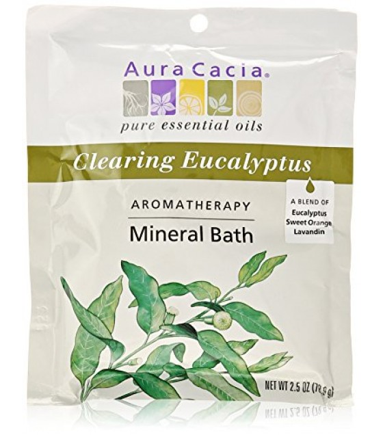 [Aura Cacia] Aromatherapy Mineral Baths Clearing Eucalyptus