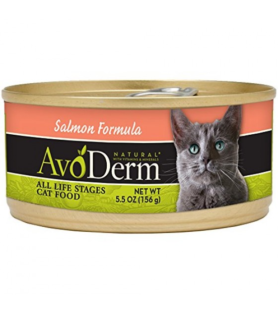 [Avoderm Natural] Cat Food, Canned Natural Salmon Can