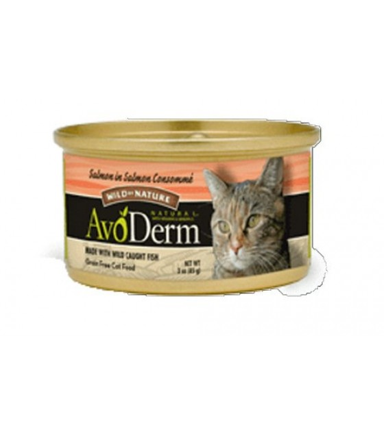 [Avoderm Natural] Cat Food, Canned Salmon in Salmon Consomme