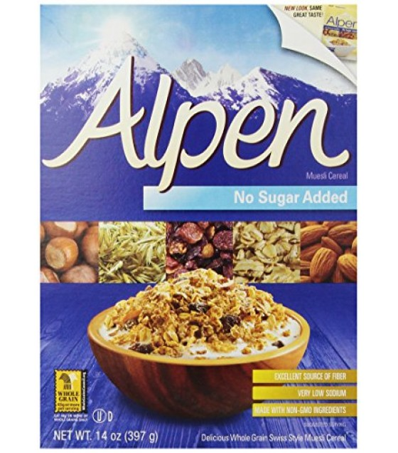 [Alpen] Muesli Natural, No Sugar Added