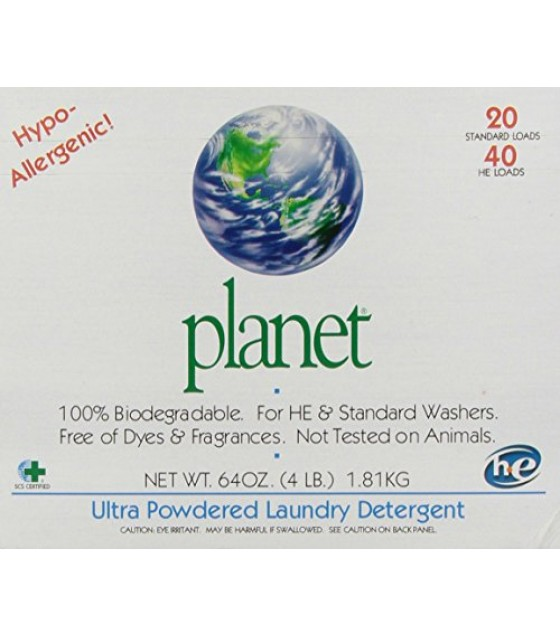 [Planet, Inc.] Cleaning Products Laundry Detergent, Ultra Pwdr