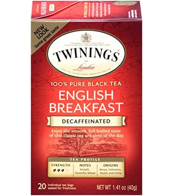[Twinings] Teas Breakfast, English, Decaf