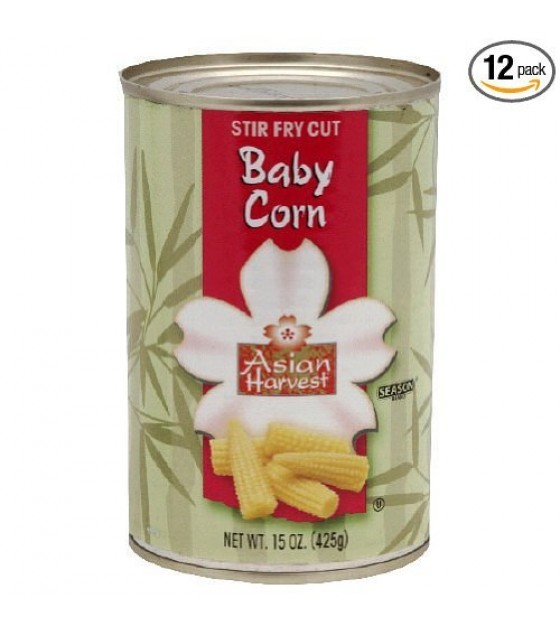[Asian Harvest] Kosher Vegetables Corn, Cut Baby
