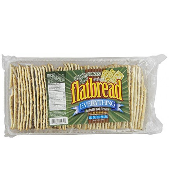 [Angonoa`S] Flatbread Crackers Everything