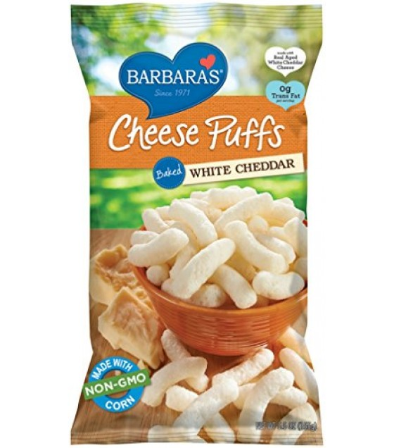 [Barbara`S Bakery] Cheese Puffs Bakes, White Cheddar