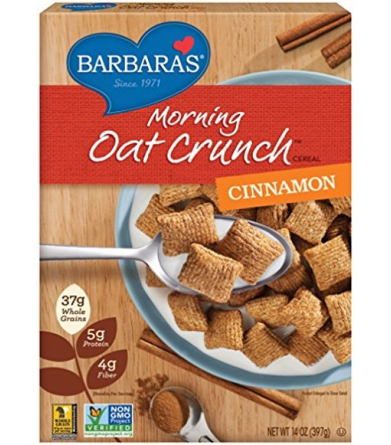 [Barbara`S Bakery] Morning Oat Crunch Cereal Cinnamon