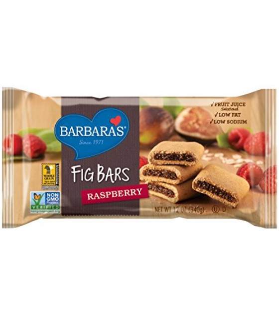 [Barbara`S Bakery] Fig Bars Raspberry, WF, LF